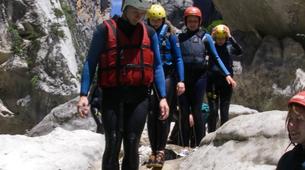 Canyoning-Gorges du Verdon-Randonnée aquatique dans les Gorges du Verdon-2