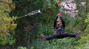 Zip-Lining-Omis-Ziplining over Cetina River, Omis-2