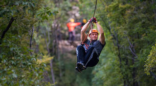 Zip-Lining-Omis-Ziplining over Cetina River, Omis-1
