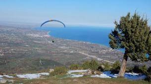 Paragliding-Mount Olympus-Tandem paragliding flight over Mount Olympus-4