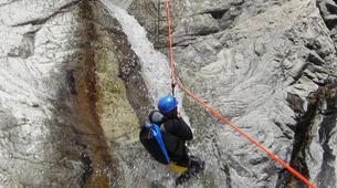 Canyoning-Ajaccio-Descente du canyon de la Richiusa à Bocognano près d'Ajaccio-7