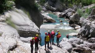 Barranquismo-Verdon Gorge-Whitewater swimming excursion in the Gorges du Verdon-2
