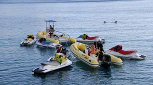 Jet Skiing-Heraklion-Jet Ski Safari and Snorkeling Tour in Heraklion, Crete-1