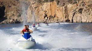 Jet Skiing-Heraklion-Jet Ski Safari and Snorkeling Tour in Heraklion, Crete-2
