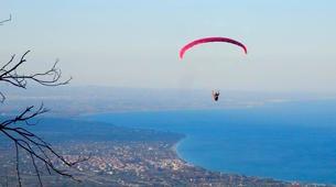 Paragliding-Mount Olympus-Tandem paragliding flight over Mount Olympus-5
