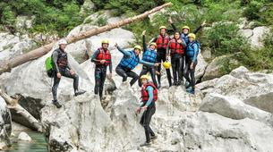 Barranquismo-Verdon Gorge-Whitewater swimming excursion in the Gorges du Verdon-4