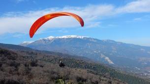 Paragliding-Mount Olympus-Tandem paragliding flight over Mount Olympus-6
