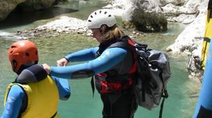 Canyoning-Gorges du Verdon-Randonnée aquatique dans les Gorges du Verdon-3