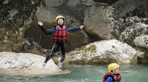 Canyoning-Gorges du Verdon-Randonnée aquatique dans les Gorges du Verdon-5