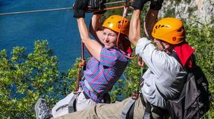 Zip-Lining-Omis-Ziplining over Cetina River, Omis-5