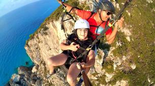 Paragliding-Lefkada-Tandem paragliding flight over Lefkada, Greece-6