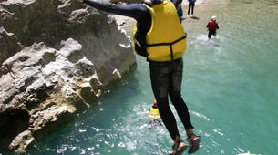 Barranquismo-Verdon Gorge-Whitewater swimming excursion in the Gorges du Verdon-3