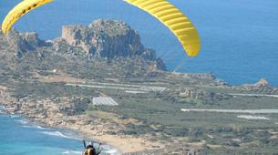 Paragliding-Chania-Tandem paragliding flight in Chania, Crete-2