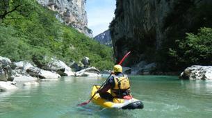 Canoë-kayak-Gorges du Verdon-Descente en canoë-kayak dans les Gorges du Verdon-1