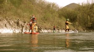 Stand up Paddle-Valtellina-Stand Up Paddle in the Adda river in Valtellina-2