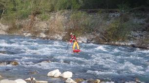 Stand up Paddle-Valtellina-Stand Up Paddle in the Adda river in Valtellina-4