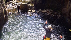 Canyoning-Nuria-Canyoning in Lower Nuria Canyon in Vall de Nuria-6