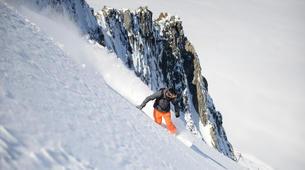 Freestyle snowboarding-Chamonix Mont-Blanc-Freestyle snowboarding initiation in Chamonix-2