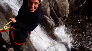 Canyoning-Nuria-Canyoning in Lower Nuria Canyon in Vall de Nuria-4