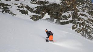 Freestyle snowboarding-Chamonix Mont-Blanc-Freestyle snowboarding initiation in Chamonix-3