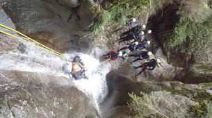 Canyoning-Nuria-Canyoning in the Salt del Grill Canyon in Nuria-3