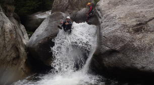 Canyoning-Nuria-Canyoning in the Salt del Grill Canyon in Nuria-2