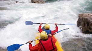 Rafting-Gorges du Verdon-Descente en canoë-kayak dans les Gorges du Verdon-1