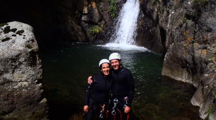 Canyoning-Nuria-Canyoning in Lower Nuria Canyon in Vall de Nuria-2