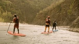Stand up Paddle-Valtellina-Stand Up Paddle in the Adda river in Valtellina-3
