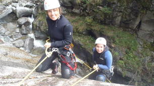 Canyoning-Nuria-Canyoning in the Salt del Grill Canyon in Nuria-5