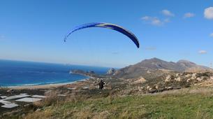 Paragliding-Chania-Tandem paragliding flight in Chania, Crete-6