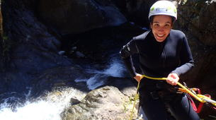 Canyoning-Nuria-Canyoning in Lower Nuria Canyon in Vall de Nuria-5