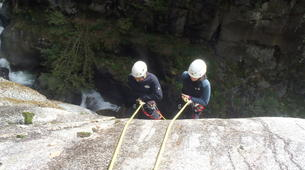 Canyoning-Nuria-Canyoning in the Salt del Grill Canyon in Nuria-4
