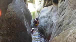 Canyoning-Girona-Canyoning at Les Anelles canyon in Girona-1