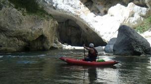 Canoë-kayak-Gorges du Verdon-Descente en canoë-kayak dans les Gorges du Verdon-5