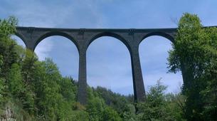 Saut à l'élastique-Ardèche-Saut à l'élastique du Viaduc de Banne (37m) en Ardèche-3