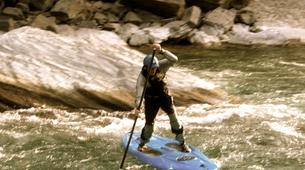 Stand up Paddle-Valtellina-Stand Up Paddle in the Adda river in Valtellina-1