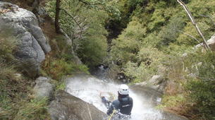 Canyoning-Nuria-Canyoning in the Salt del Grill Canyon in Nuria-6
