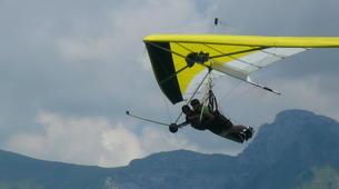 Ala detla-Annecy-Hang gliding tandem flight over Annecy-10