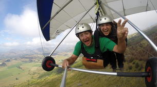Ala detla-Annecy-Hang gliding tandem flight over Annecy-7