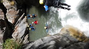 Canyoning-Laruns-Canyoning dans les Gorges du Bitet Supérieur à Laruns-3
