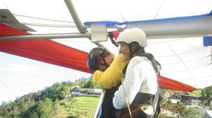 Ala detla-Annecy-Hang gliding tandem flight over Annecy-8