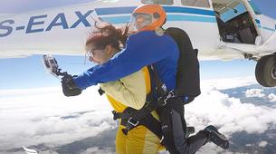 Skydiving-Évora-Tandem skydive over Evora, Portugal-3
