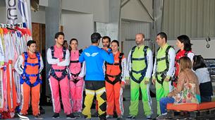 Skydiving-Évora-Tandem skydive over Evora, Portugal-6