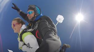 Skydiving-Évora-Tandem skydive over Evora, Portugal-4