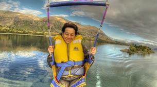 Parasailing-Wanaka-Parasailing flight over Lake Wanaka, New Zealand-5