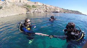 Plongée sous-marine-Malte-PADI Open Water course in Mellieha Bay, Malta-3