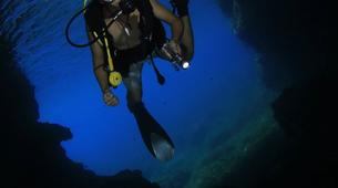 Plongée sous-marine-Malte-PADI Open Water course in Mellieha Bay, Malta-6
