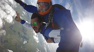 Skydiving-Évora-Tandem skydive over Evora, Portugal-1