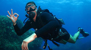 Plongée sous-marine-Malte-PADI Open Water Diver in Exiles Bay, Malta-2